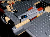 Millenium Falcon boarding ramp mechanism