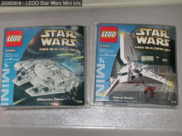 star wars mini kits