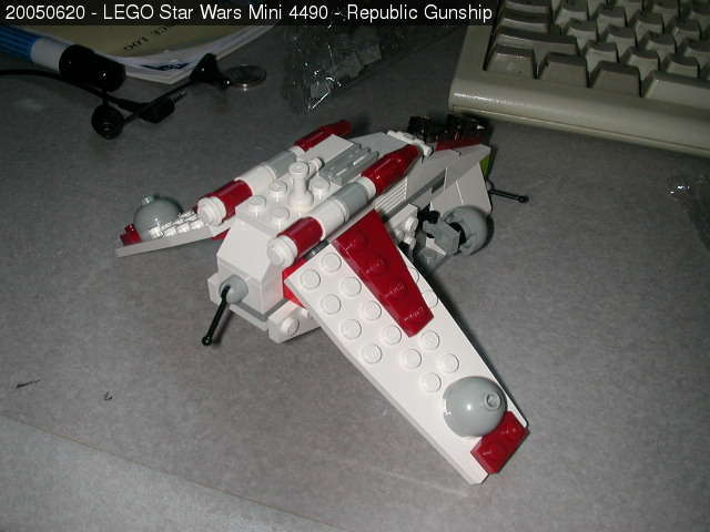 Lego Star Wars Mini Republic Gunship Lego Mini Republic Gunship