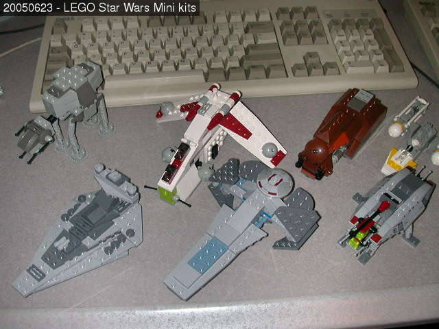 Как сделать из лего из звездных войн 933
