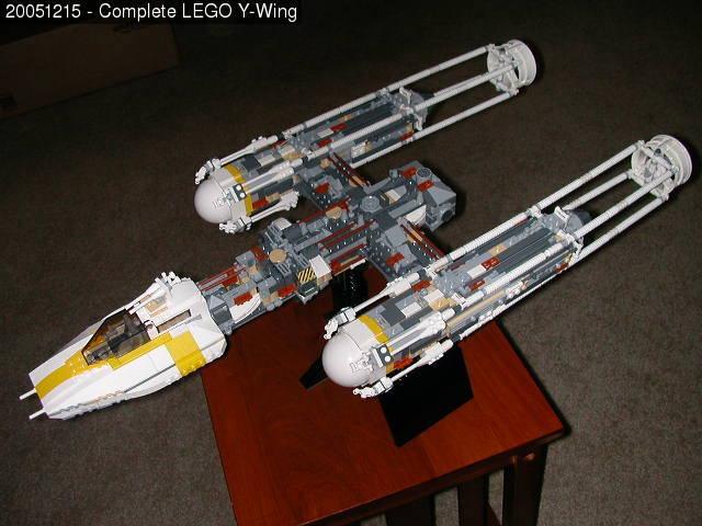 Mini Lego Y Wing Instructions
