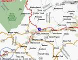 Map - 40 to Sylva/Dillsboro